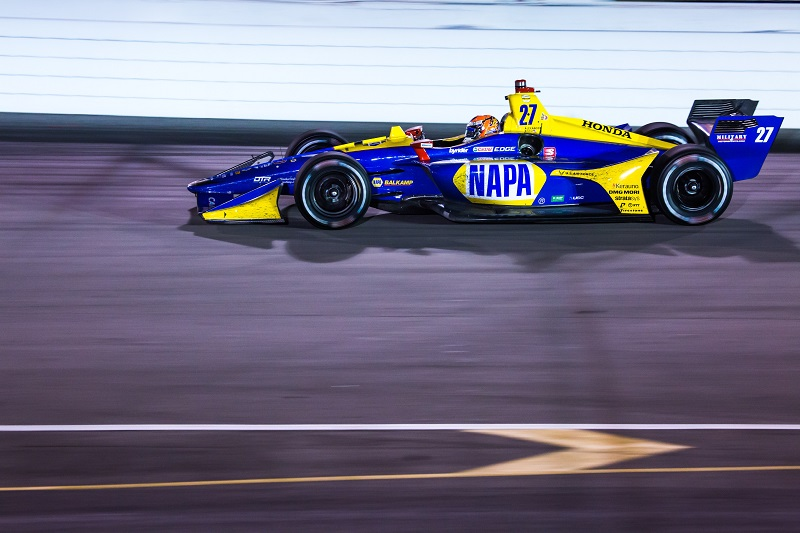 |Photographer: Kenneth Midgett|Event: Bommarito Automotive Group 500|Circuit: World Wide Technology Raceway|Location: Madison, Illinois|Series: NTT IndyCar Series|Season: 2019|Country: US|Car: Dallara DW12 UAK18|Number: 27|Team: Andretti Autosport|Driver: Alexander Rossi|