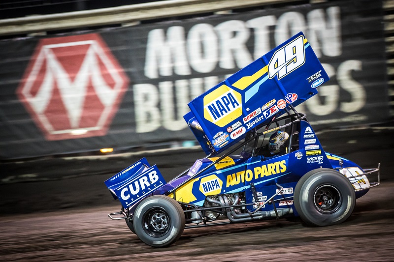 Brad Sweet Knoxville Nationals 2019 NAPA AUTO PARTS 49