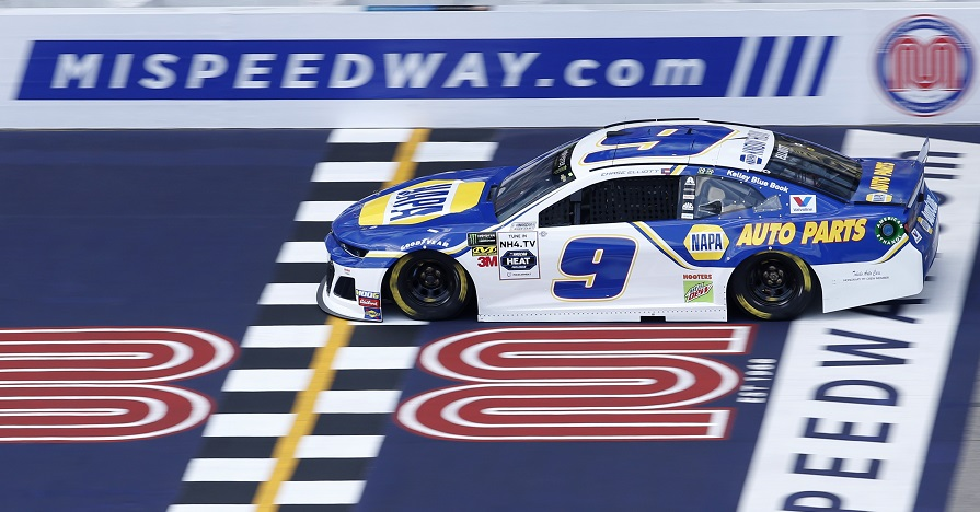 Elliott, NAPA Team Collect Top-Ten Finish at Michigan
