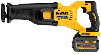 Cordless tool with battery