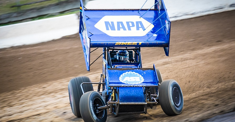 Brad Sweet NAPA AUTO PARTS 49 World of Outlaws sprint car Skagit Grays Harbor