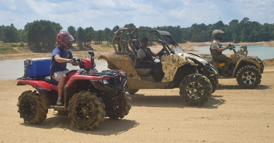 Busco Beach and ATV Park riders