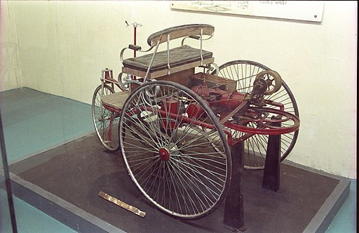 First Car by Karl Benz-1883
