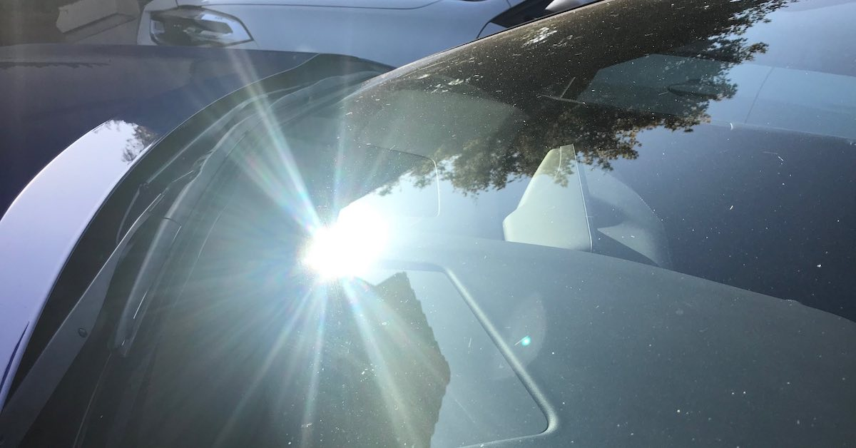 Sun glaring off a car's windshield. Hate having to go out to your car to start it in winter or summer? A remote car starter could prove to be extremely useful.