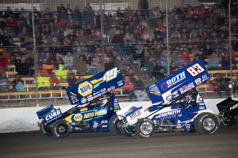 Brad Sweet Outlaws championship points leader NAPA AUTO PARTS