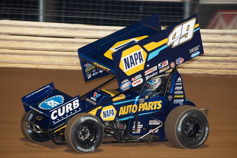 Brad Sweet Port Royal Speedway 2019 NAPA AUTO PARTS 49