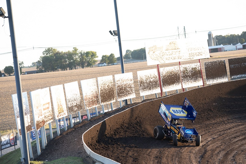 Brad Sweet championship points leader Outlaws Tri-State Speedway NAPA 49