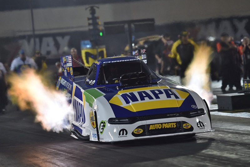Ron Capps NAPA NightVision funny car NHRA Carolina Nationals 2019