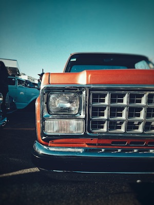 Pickup truck headlight