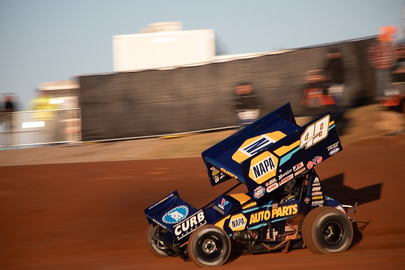 Brad Sweet 2019 World of Outlaws champion NAPA AUTO PARTS 49 Kasey Kahne Racing