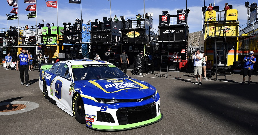 Strong Run at ISM Raceway Ends Early for Elliott