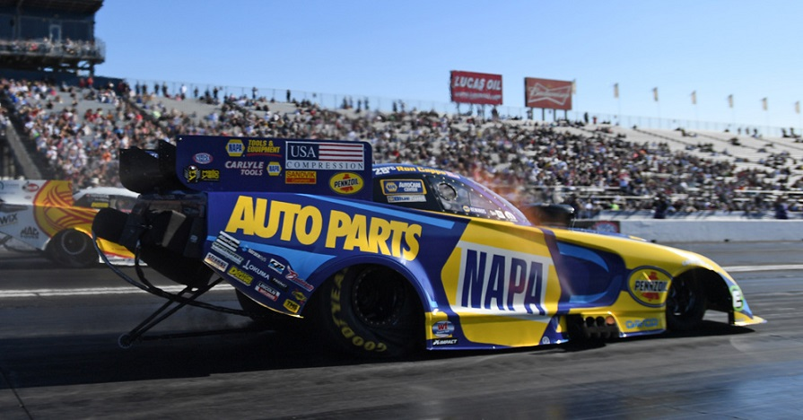 Ron Capps NHRA Finals Pomona 2019 NAPA AUTO PARTS funny car