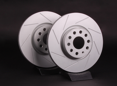 Slotted rotors offer distinct benefits over blank rotors, but do have a couple of drawbacks.