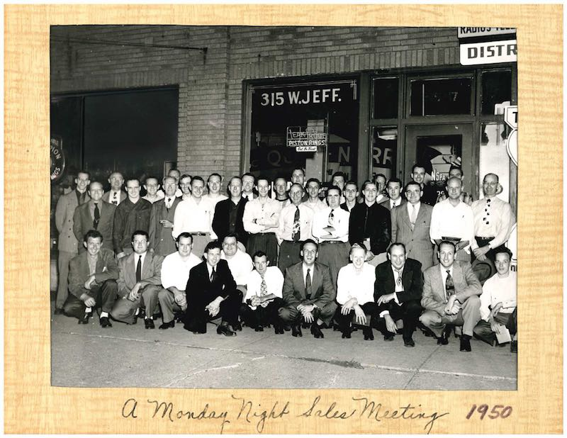 Ridge NAPA team 1950s