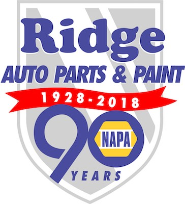 Ridge NAPA 90 years logo