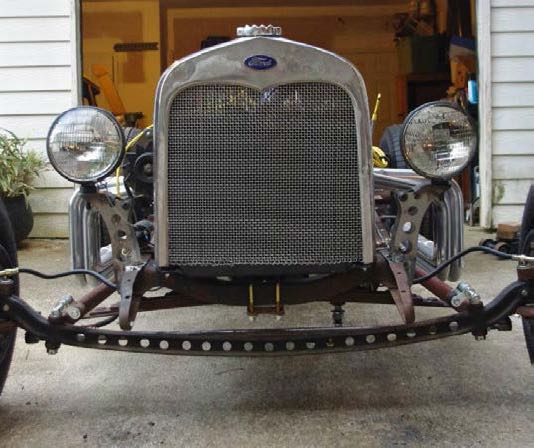 hot rod front end