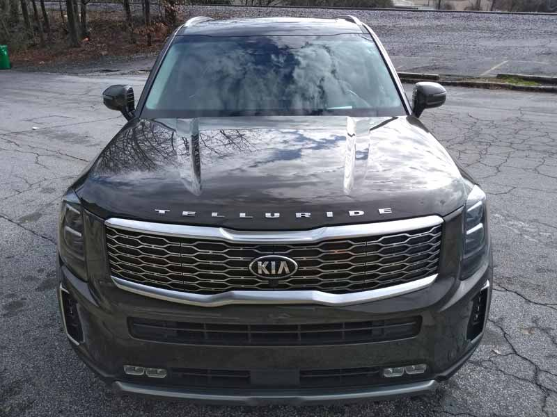 Kia Telluride front high view