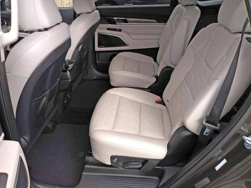 Kia Telluride rear seats