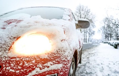 https://www.pexels.com/photo/snow-covered-red-sedan-730901/
