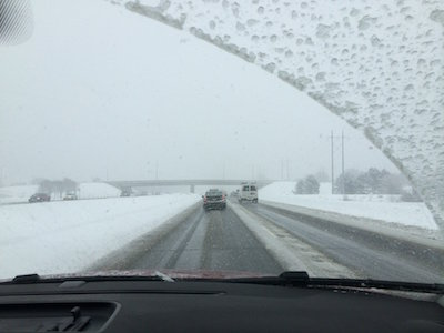 Winter windshield wipers improve visibility in cold weather.