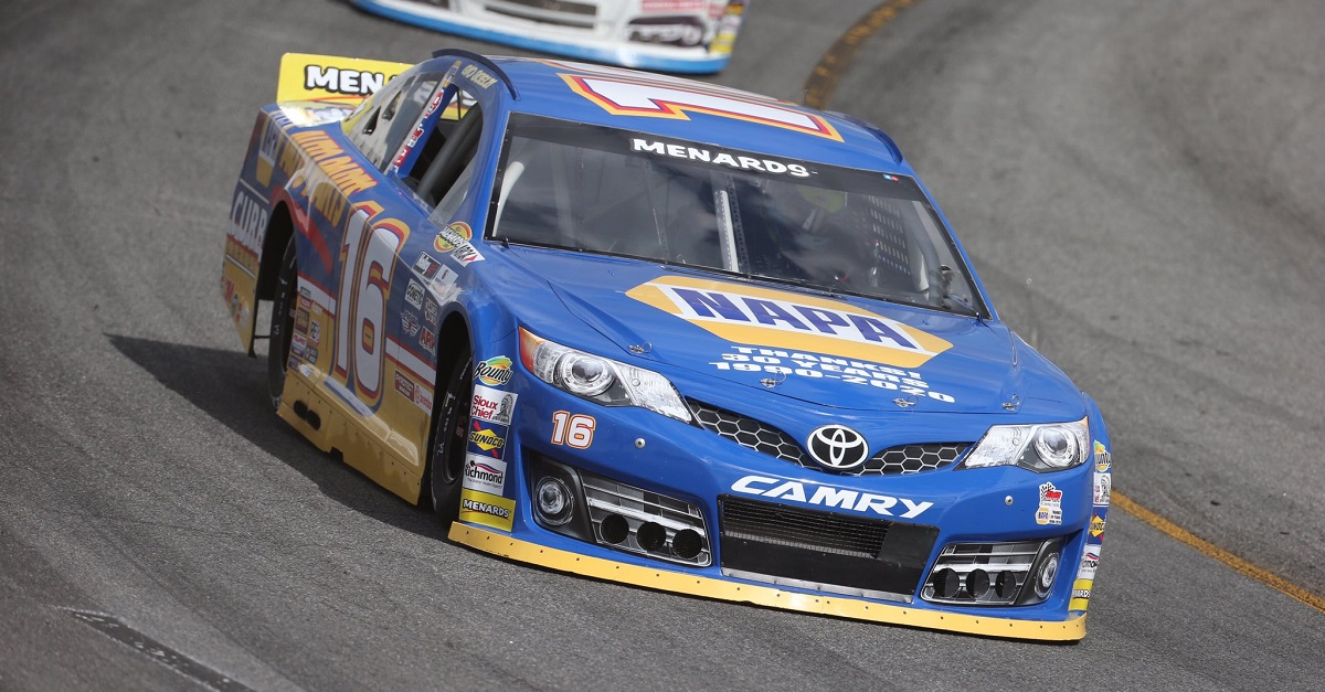 Gio Scelzi No. 16 NAPA AUTO PARTS Toyota Bill McAnally Racing ACRA feat