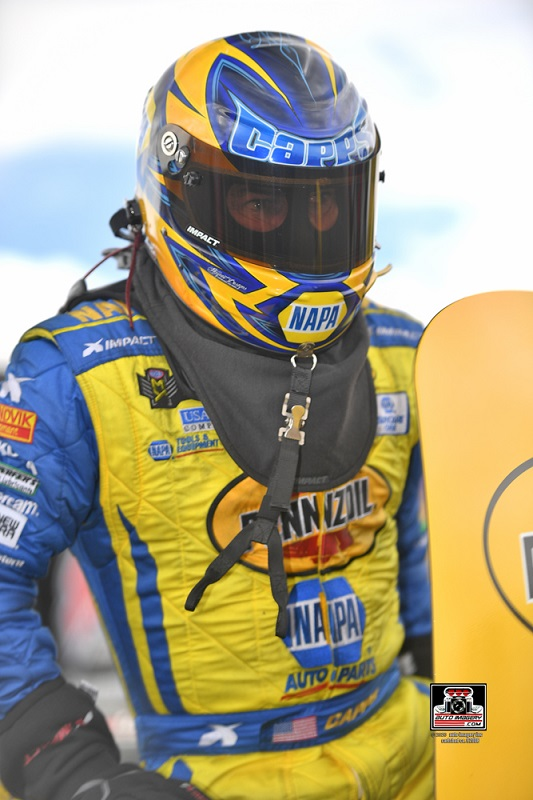 Ron Capps Arizona Nationals 2020 blue chrome NAPA AUTO PARTS Pennzoil