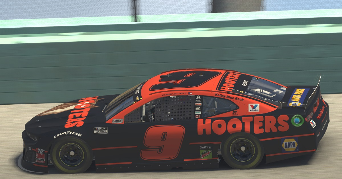 Chase Elliott Homestead eNASCAR iRacing sim racing 9 2020 featured