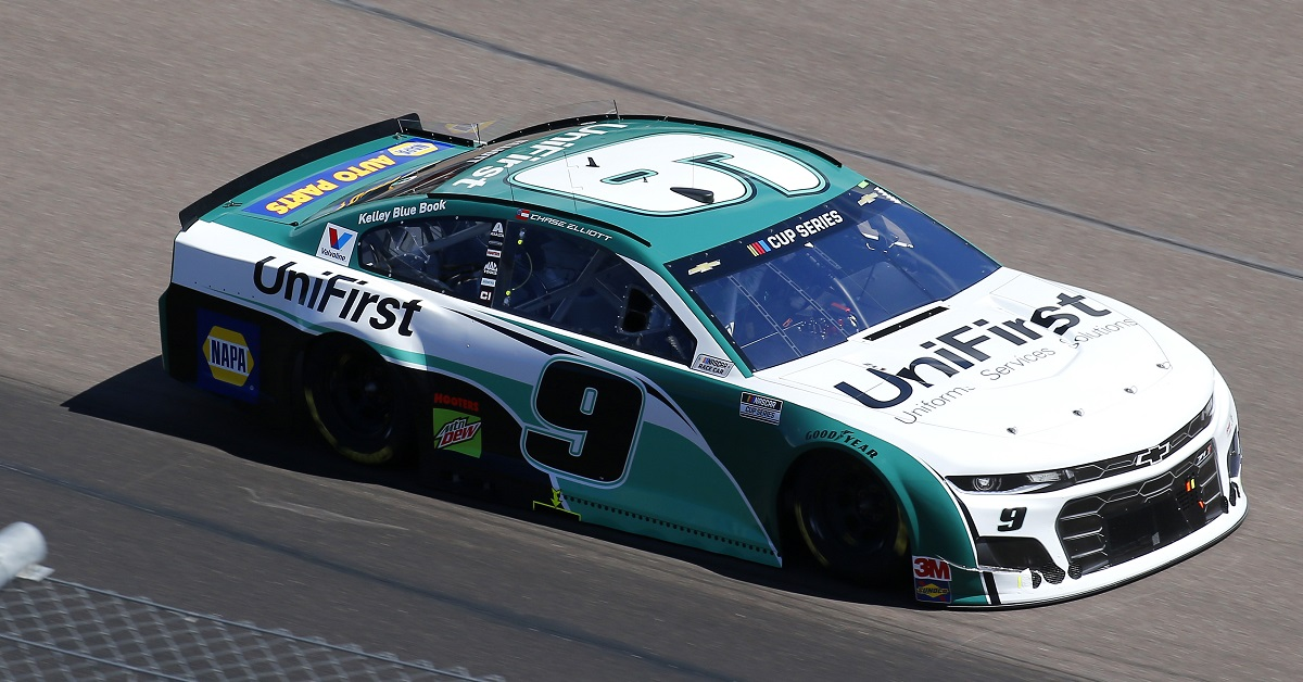 Elliott, No. 9 Team Finish Seventh at Phoenix