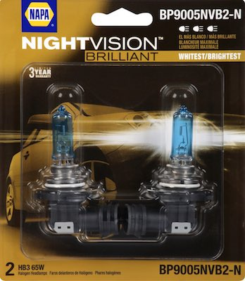 spare headlight bulb pack