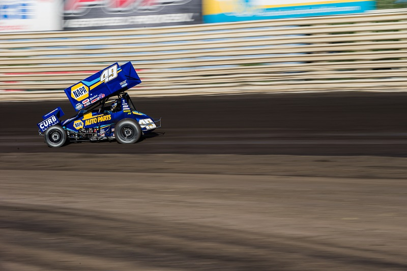 World of Outlaws Return to Racing Knoxville 2020 Brad Sweet NAPA AUTO PARTS 49