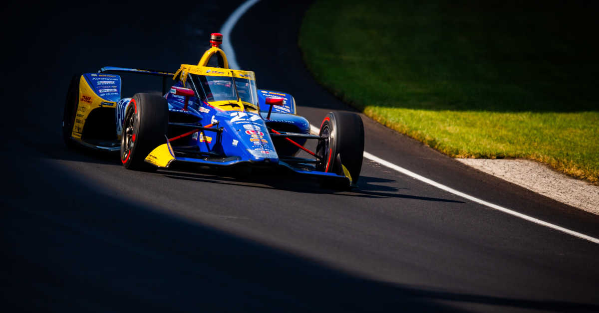 |Photographer: Kenneth Midgett|Event: 104th Running of the Indianapolis 500|Circuit: Indianapolis Motor Speedway|Location: Speedway, Indiana|Series: NTT IndyCar Series|Country: United States|Session: race|Team: Andretti Autosport|Car: Dallara DW12 UAK18|Car: Honda|Number: 27|Driver: Alexander Rossi|
