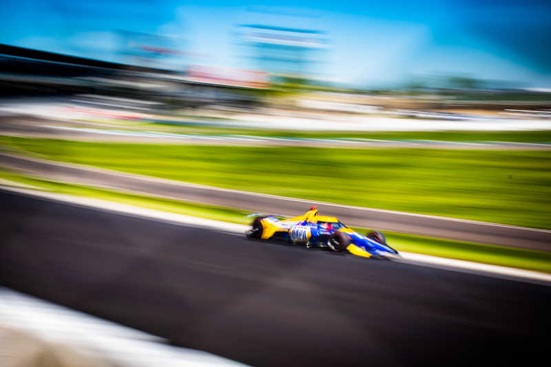 |Photographer: Kenneth Midgett|Event: 104th Running of the Indianapolis 500|Circuit: Indianapolis Motor Speedway|Location: Speedway, Indiana|Series: NTT IndyCar Series|Country: United States|Session: final practice|Team: Andretti Autosport|Car: Dallara DW12 UAK18|Car: Honda|Number: 27|Driver: Alexander Rossi|
