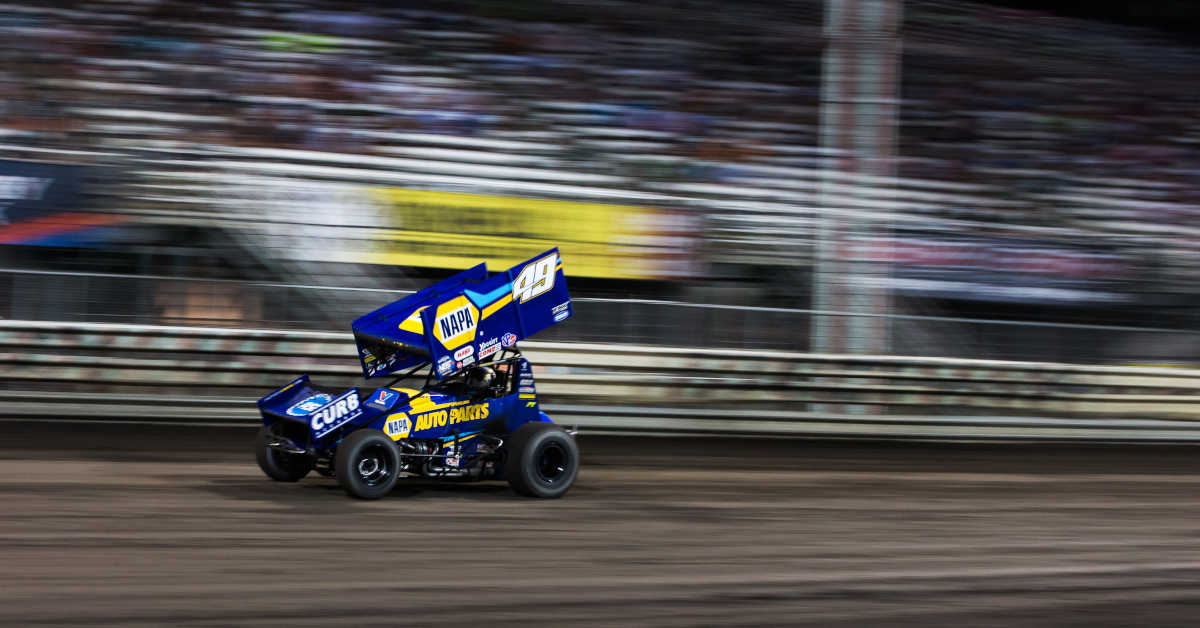 Brad Sweet Knoxville 2020 NAPA AUTO PARTS KKR 49