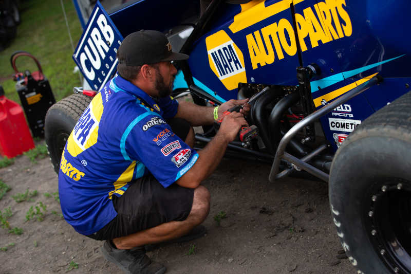 Brad Sweet North Dakota 49 NAPA AUTO PARTS