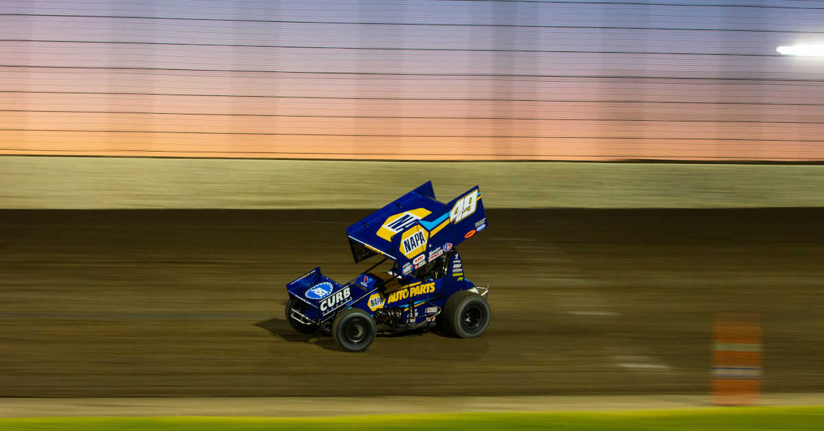 Brad Sweet World of Outlaws Dodge City NAPA AUTO PARTS 49