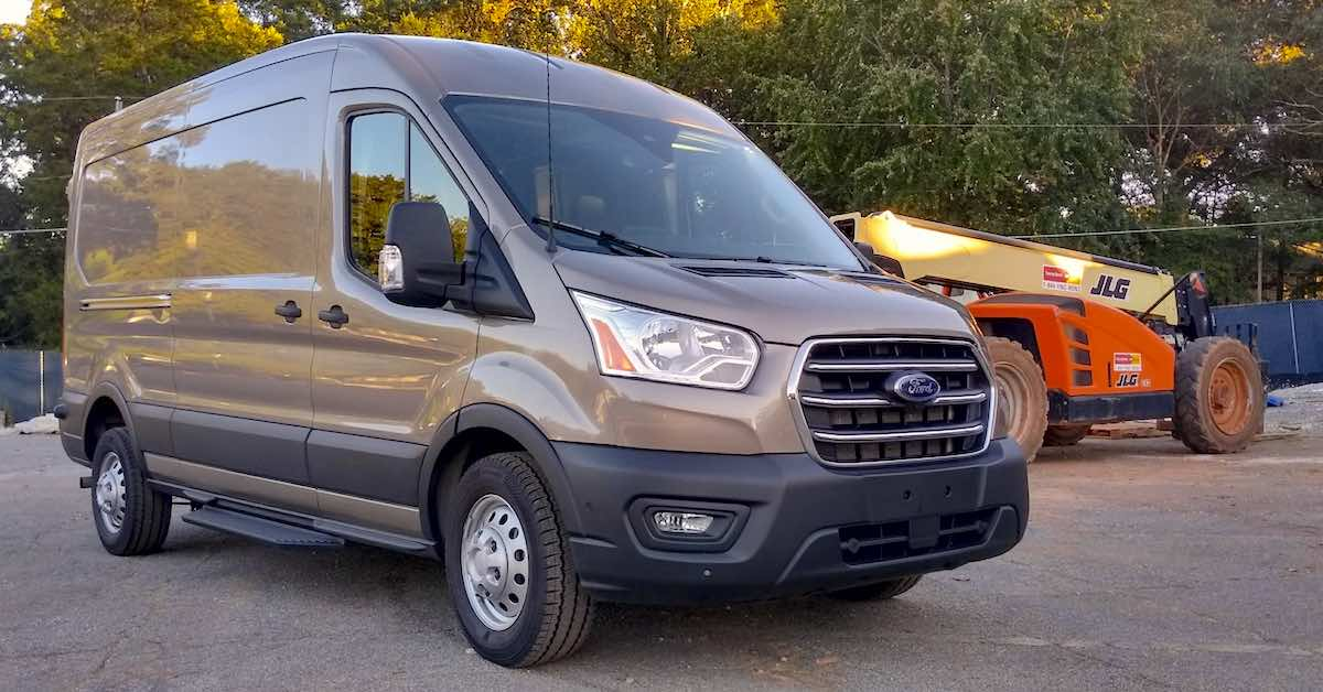 NAPA Knows New Cars: 2020 Ford Transit 250 Cargo Van
