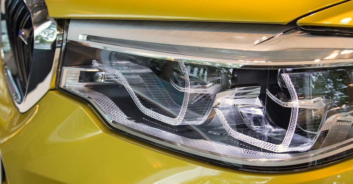 LED signature headlights