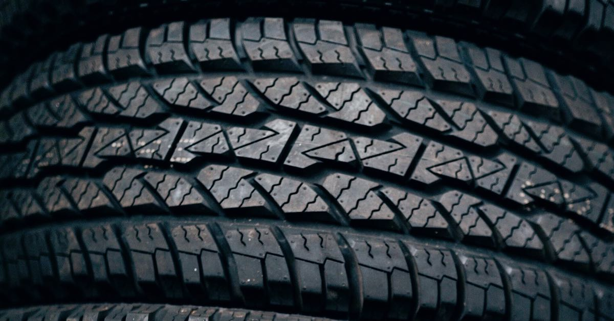 A tire's tread