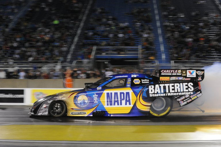 NAPA Funny Car Intrepid Fallen Heroes Fund