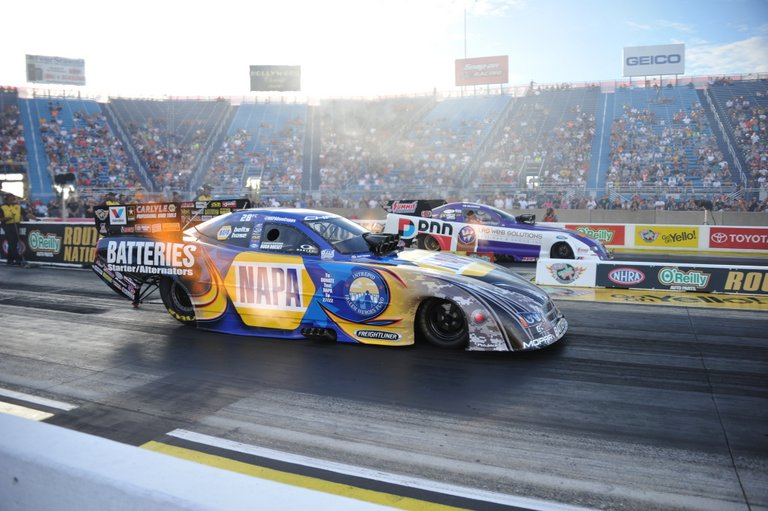 Ron Capps NAPA Batteries NHRA Funny Car
