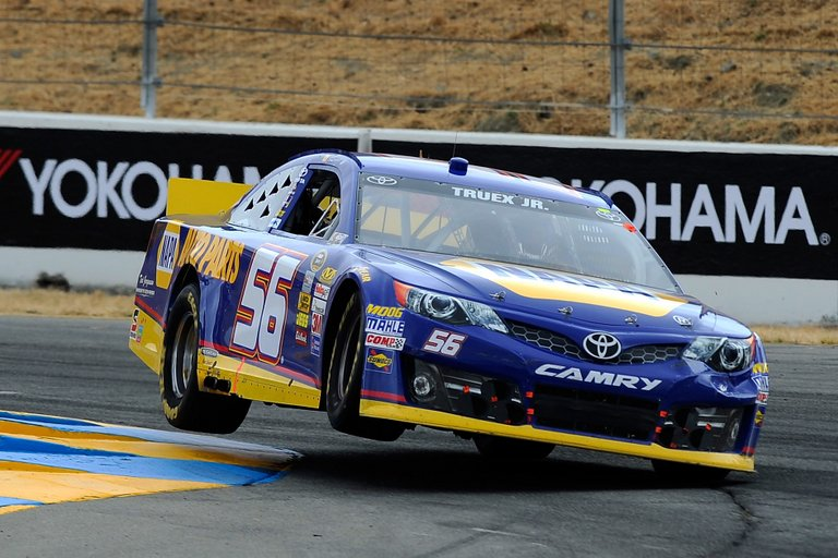 Truex Sonoma NASCAR road course winner Toyota/Save Mart 350