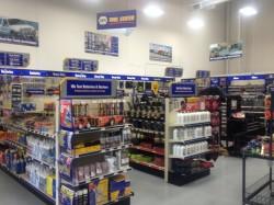 NAPA Auto Parts Ontario California LA Distribution Center retail interior