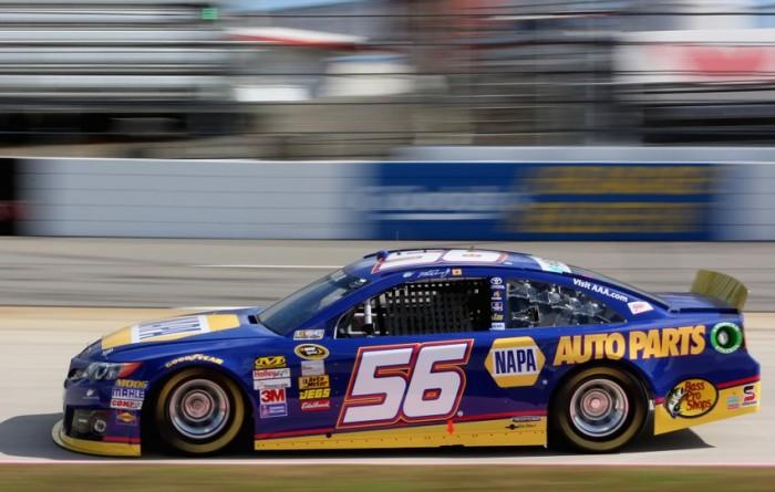 NAPA Auto Parts driver Martin Truex Jr. at Martinsville Speedway