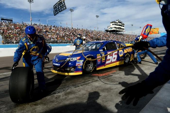 NAPA Racing Truex 56 NASCAR Sprint Cup Phoenix 2013