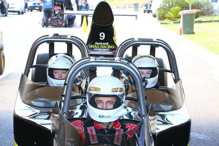 Capps 3-seat dragster Australia Graham Elliott