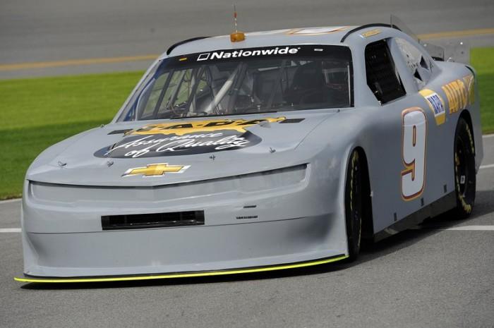 Chase Elliott front Daytona Testing 2014 NAPA Chevrolet