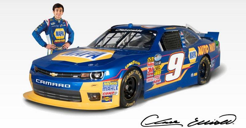 Chase Elliott, No. 9 NAPA Chevrolet, Daytona, NNS, NASCAR