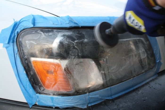 hazy headlights, yellowed headlights, cleaning, restoration, safety, appearance