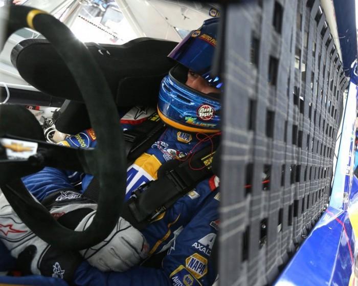 Chase Elliott NAPA Chevrolet Nationwide Series Phoenix 2014 in car net