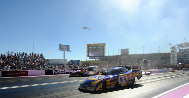 Ron Capps NAPA Auto Parts Dodge Charger RT Funny Car Las Vegas 2013